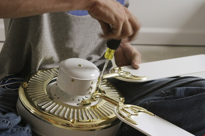 Ceiling fan installation or repair