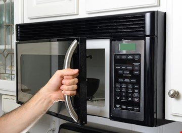 Microwave sparking problem