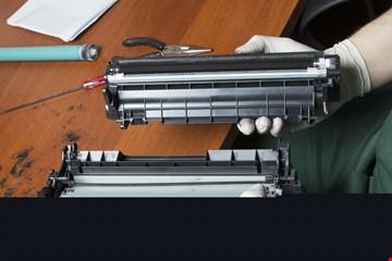 Printer cartridge refill