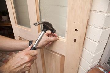 Door or Window mesh installation