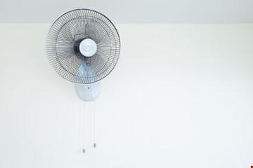 Wall fan installation or repair