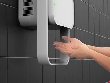 Hand Dryer Installation