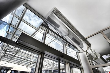 Air Curtains Installation