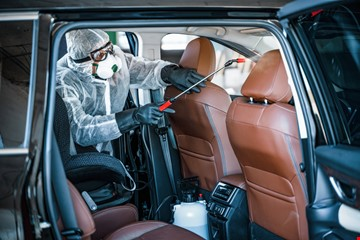 Car Disinfection and Sanitization