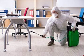Small Offices Or Shops Disinfection and Sanitization