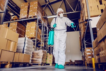 Large Office Or Commercial Disinfection and Sanitization
